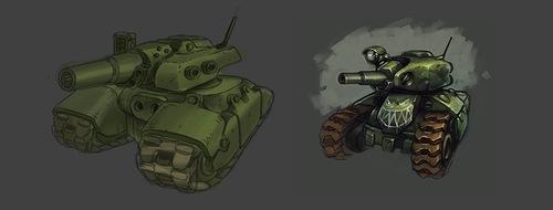 Новые скетчи для Танков Онлайн 2.0. Концепт-арт.