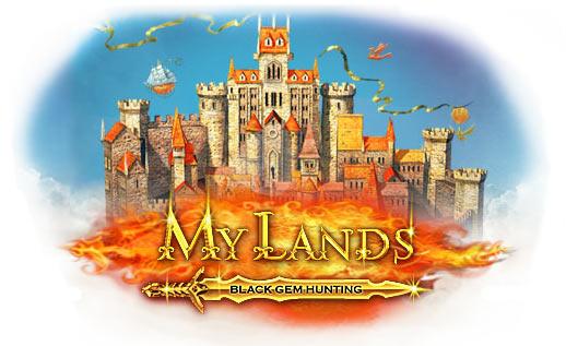 Играть в бесплатную онлайн-игру My Lands: Black Gem Hunting