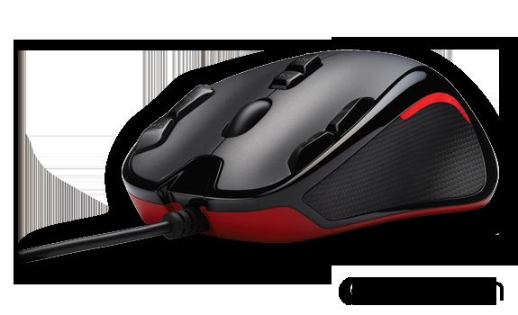 Внешний вид игровой мышки Logitech G300