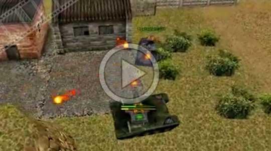 как ловить рикошет танком