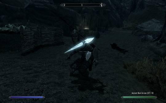 The Elder Scrolls 5: Skyrim - Мой персональные телохранитель Лидия. Ранена сосулькой