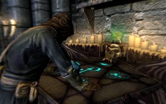 Маг в своём доме в Маркарте | The Elder Scrolls 5: Skyrim