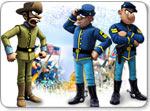 Бесплатно скачать игру The Bluecoats: North vs South - Стратегии и бизнес - Казуальные мини-игры - Браузерные, казуальные, онлайновые, компьютерные и мини-игры