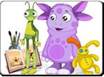 Бесплатно скачать игру Лунтик. В поисках звезды - Квесты и поиск предметов - Казуальные мини-игры - Браузерные, казуальные, онлайновые, компьютерные и мини-игры