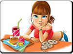 Бесплатно скачать игру Амели. Кафе - Аркады и экшн - Казуальные мини-игры - Браузерные, казуальные, онлайновые, компьютерные и мини-игры