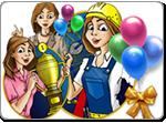 Бесплатно скачать игру Луна-Парк - Аркады и экшн - Казуальные мини-игры - Браузерные, казуальные, онлайновые, компьютерные и мини-игры