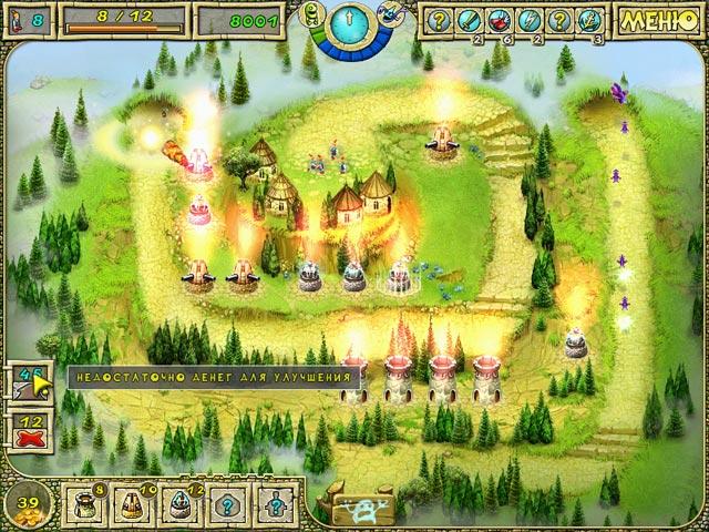 Онлайн флеш игры башни