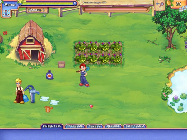 скачать игру через торрент чудесный огород