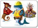 Бесплатно скачать игру Акваландия - Стратегии и бизнес - Казуальные мини-игры - Браузерные, казуальные, онлайновые, компьютерные и мини-игры