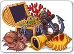 Бесплатно скачать игру Сокровища пиратов - Три в ряд / шарики - Казуальные мини-игры - Браузерные, казуальные, онлайновые, компьютерные и мини-игры