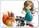Бесплатно скачать игру Загадки Хитролесья - Логические и головоломки - Казуальные мини-игры - Браузерные, казуальные, онлайновые, компьютерные и мини-игры