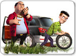 Бесплатно скачать игру Как достать соседа: Каникулы олигарха - Аркады и экшн - Казуальные мини-игры - Браузерные, казуальные, онлайновые, компьютерные и мини-игры